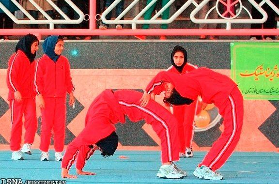 درخشش بانوان ژیمناستیککار آباده ای در مسابقات قهرمانی استان