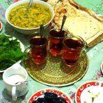 نکات تغذیه ای به هنگام سحر و افطار