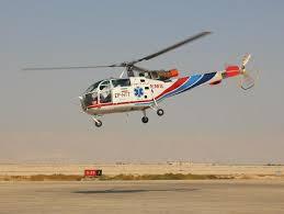 پرواز بالگرد اورژانس آباده برای انتقال بیمار