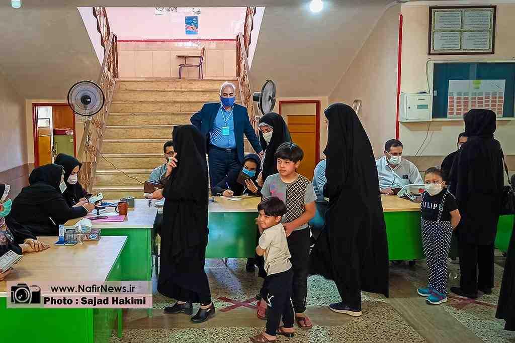 گزارش تصویری/ برگزاری سیزدهمین انتخابات ریاست جمهوری و ششمین دوره شورای اسلامی در آباده